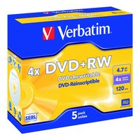 DVD-REINSCRIPTIBLES RW